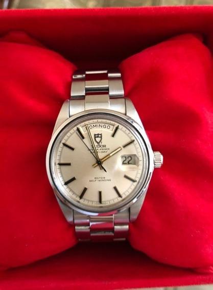 Reloj Rolex Tudor Day Date Automatico 38mm Jumbo Estuche Hom