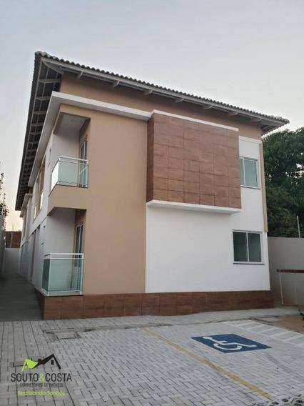 Apartamento Com 2 Dormitórios À Venda, 50 M² Por R$ 140.000 - Parque Potira - Caucaia/ce - Ap0061