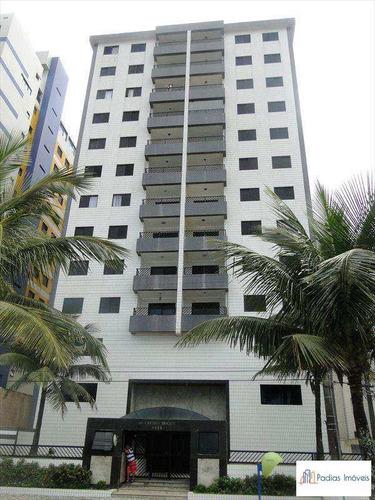 Apartamento Com 2 Dorms, Centro, Mongaguá - R$ 380 Mil, Cod: 738400 - V738400