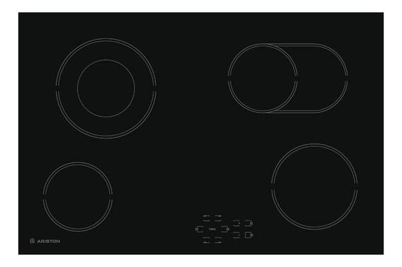 Anafe eléctrico Ariston HR 704 B A negro 220V
