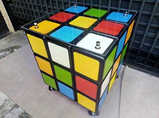 Mesa Decoración Rubik Con Tope - Somos Fabricantes Muebles