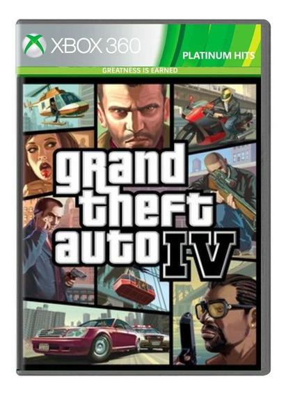 Jogo Grand Theft Auto Iv Platinium Hits - Xbox 360