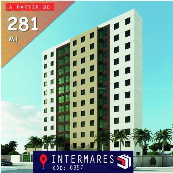 Apartamento Para Venda Em Cabedelo, Intermares, 2 Dormitórios, 1 Suíte, 2 Banheiros, 1 Vaga - 6957