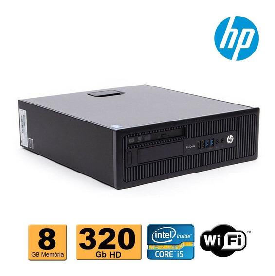 Desktop Hp Prodesk 600 Slim Core I5 4ªg 8gb Ddr3 320gb Wifi