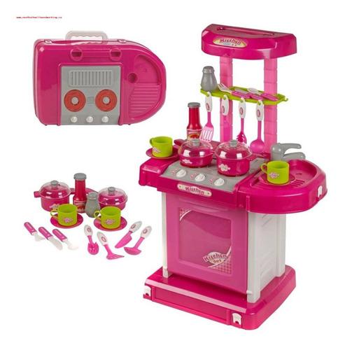 Juego De Cocina Mini Set Completo Juego - Juguete Niñas