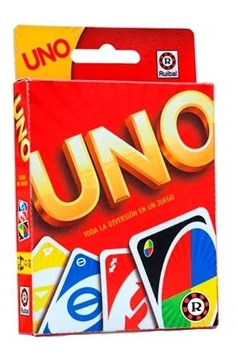 Imagen 1 de 5 de Juego De Cartas Uno Ruibal - Mattel