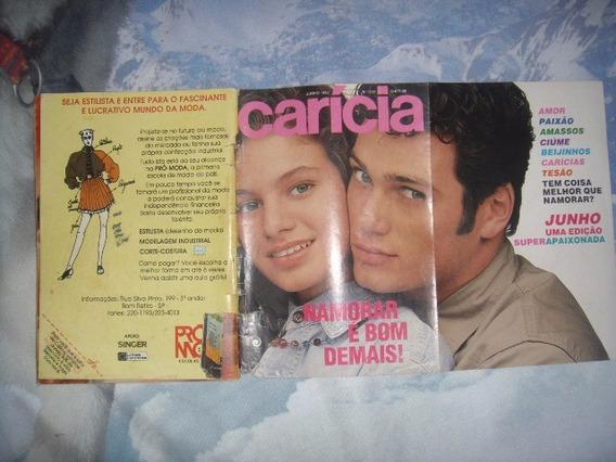 Caricia Nº200 06/90 - Marcelo Novaes / Rita Lee / Taumaturgo