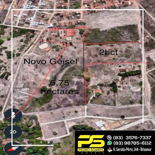 Imagem 1 de 1 de ( G I G A N T E ) Vendo Terreno Ideal Para Construções No Novo Geisel - Te0005