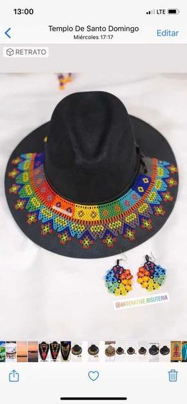 Sombrero Con Toquilla Modelo Volcán