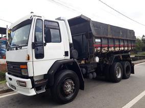 Caminhão Truck Caçamba Ford Cargo 4030, Motor Novo!