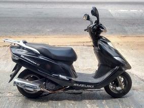 Suzuki Burgman I 2014 Partida Elétrica Parcela E Financia