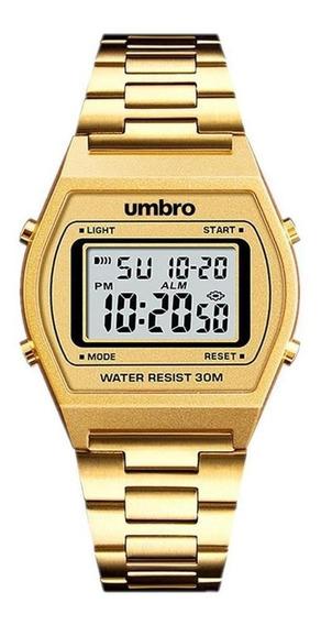 Relógio Digital Umbro Pulseira Metal Unissex Clássico