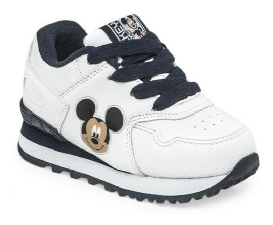 Zapatillas Addnice Mickey Running Blanca ¡¡¡envío Gratis!!!