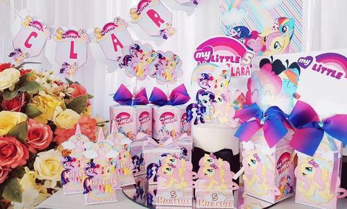 Kit Festa Em Casa My Little Poney