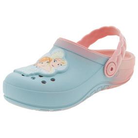 Clog Infantil Feminino Fairytale Azul Grendene Kids - 21747