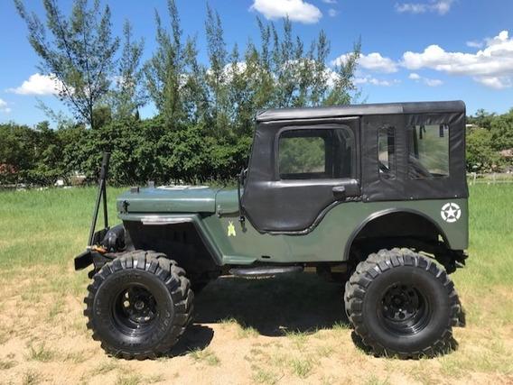 Jeep 1950 - Trilha