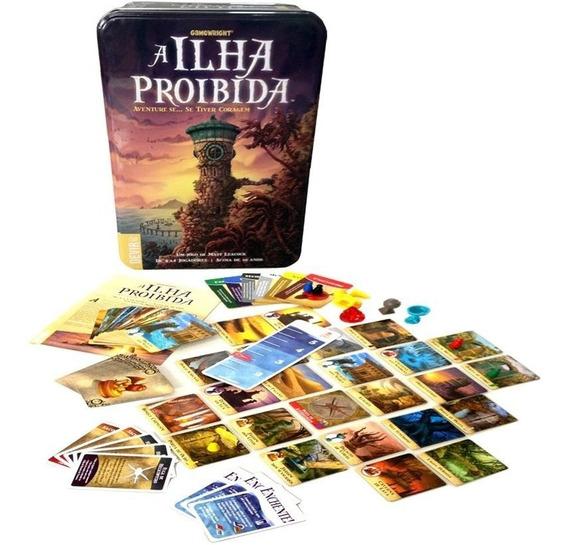 Jogo A Ilha Proibida - Devir - Bonellihq T20