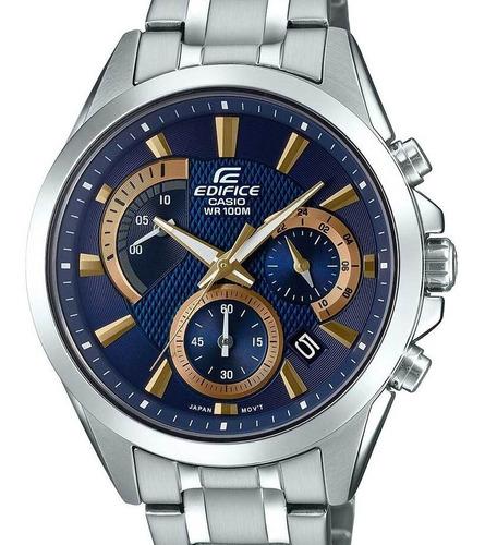 Relógio Casio Edifice Masculino Prata -  Efv-580d-2avudf