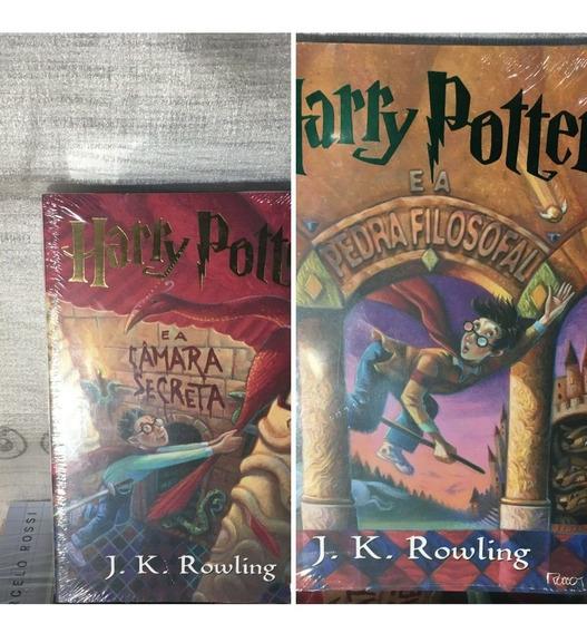 Combo Harry Potter E A Pedra Filosofal E Harry E A Camara Se