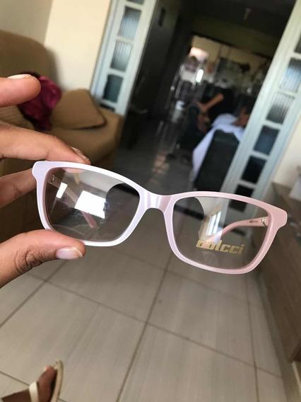 Óculos Grau Colcci Rosê