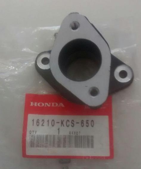 Coletor Admissão Cb125/cg125/tr125-original Honda-77/92