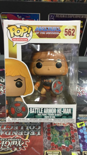 Funko Pop! Masters Of The Universe -he-man Battle Armor #562