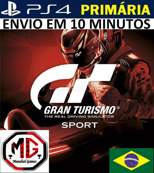 Gran Turismo Sport Ps4 - Original 1 Psn - Portugues