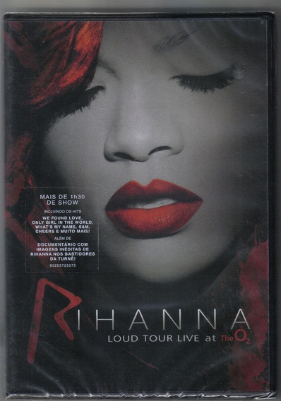 Dvd Rihanna - Loud Tour Live At The O2