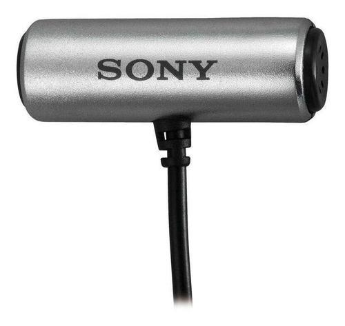 Imagen 1 de 2 de Micrófono Sony ECM-CS3 condensador omnidireccional gris