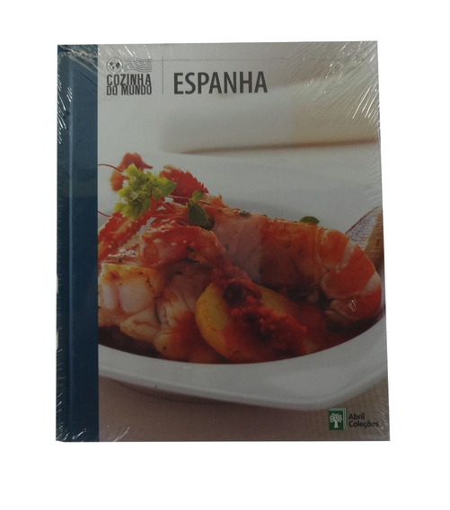 Livro De Receitas Típicas Da Espanha