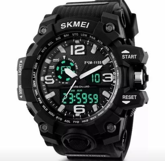 Relógio Militar Skmei S-shock Anal. Dig. A Prova D