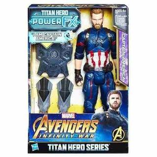 Muñeco Capitan America Avengers Envio Gratis Todo El Pais