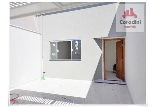 Imagem 1 de 19 de Casa Com 2 Dormitórios À Venda, 74 M² Por R$ 330.000 - Vila Mollon Iv - Santa Bárbara D'oeste/sp - Ca0861