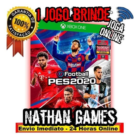 Pes 2020 Pro Evolution Soccer 20 Xbox One Digital + Brinde