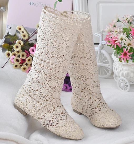Zapatos De Mujer De Verano Artesanales