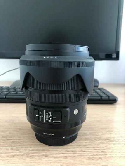 Lente Sigma Art 24-70 2.8 Muito Nova Canon