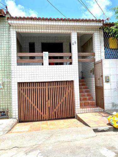 Imagem 1 de 15 de Casa Usada Para Venda Em Natal, Rocas - Casa Na Rua São Sebastião, 2 Dormitórios, 1 Banheiro, 1 Vaga - Cas1675-c_2-1144204