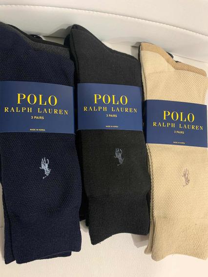 Calcetines Polo Ralph Lauren 9 Pares Originales