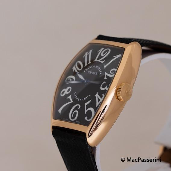 Relógio Franck Muller Casablanca 18k Gold