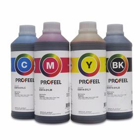 Tinta Corante Profeel Para Epson E0014 Uv 1litro