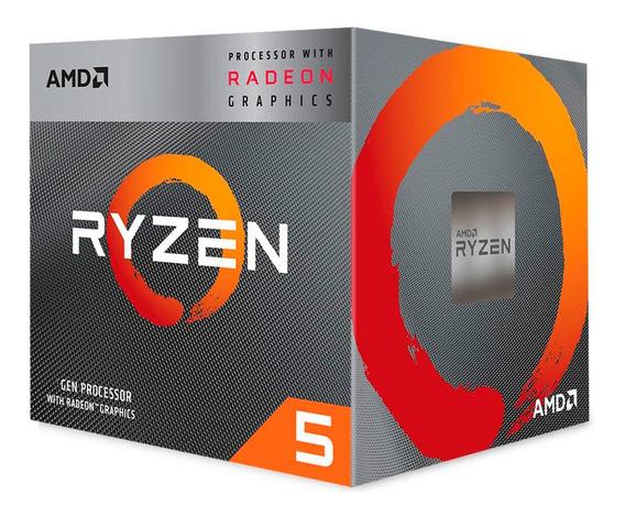 Processador Amd Ryzen 5 3400g 3.7ghz/4.2ghz 6mb Am4