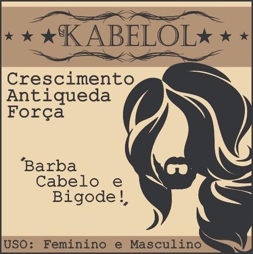 Antiqueda Capilar Barba Cabelo Kabelol Oleo Essencial