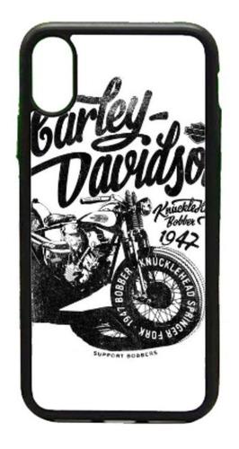 Imagen 1 de 3 de  Funda iPhone 5 6 7 8 Plus X Xr Xs Max 11 Harley Davidson Mo