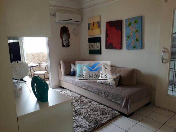 Apartamento À Venda, 63 M² Por R$ 400.000,00 - Estuário - Santos/sp - Ap0195