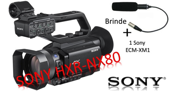 Sony Hxr-nx80 4k + B R I N D E + C/ Nf
