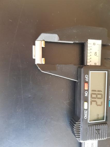 Eslabon Constelletion Acero Oro 18mm Para Cristal Concavo