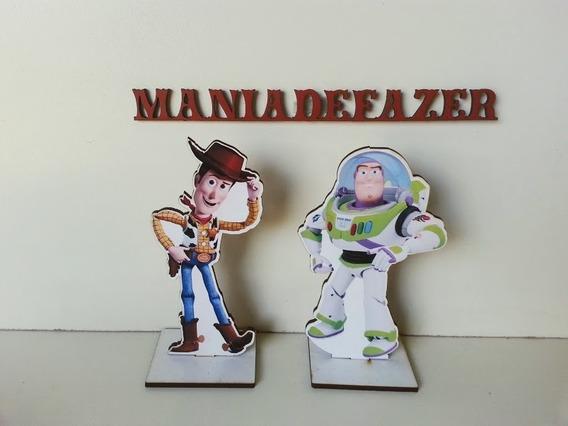 20 Toy Story 12 Cm Cores Lembrancinhas Mdf