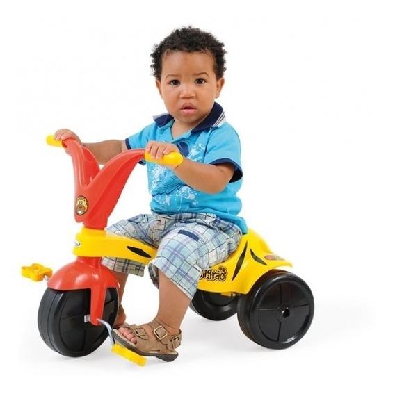 Triciclo Velotrol Tigrão Infantil Meninos Xalingo Amarelo