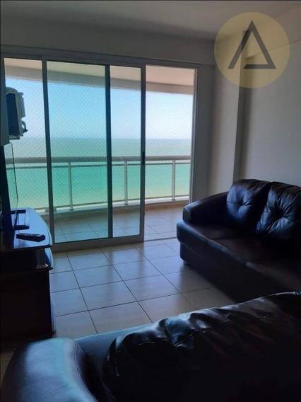 Apartamento Com 2 Dormitórios Para Alugar, 70 M² Por R$ 1.600/mês - Praia Campista - Macaé/rj - Ap1026
