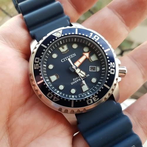 Relógio Citizen Diver Eco Drive Bn0151 Completo